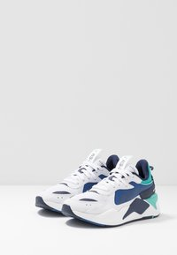 Puma - RS-X HARD DRIVE - Sneakers - white/galaxy blue - 2
