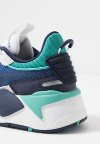 Puma - RS-X HARD DRIVE - Sneakers - white/galaxy blue - 5