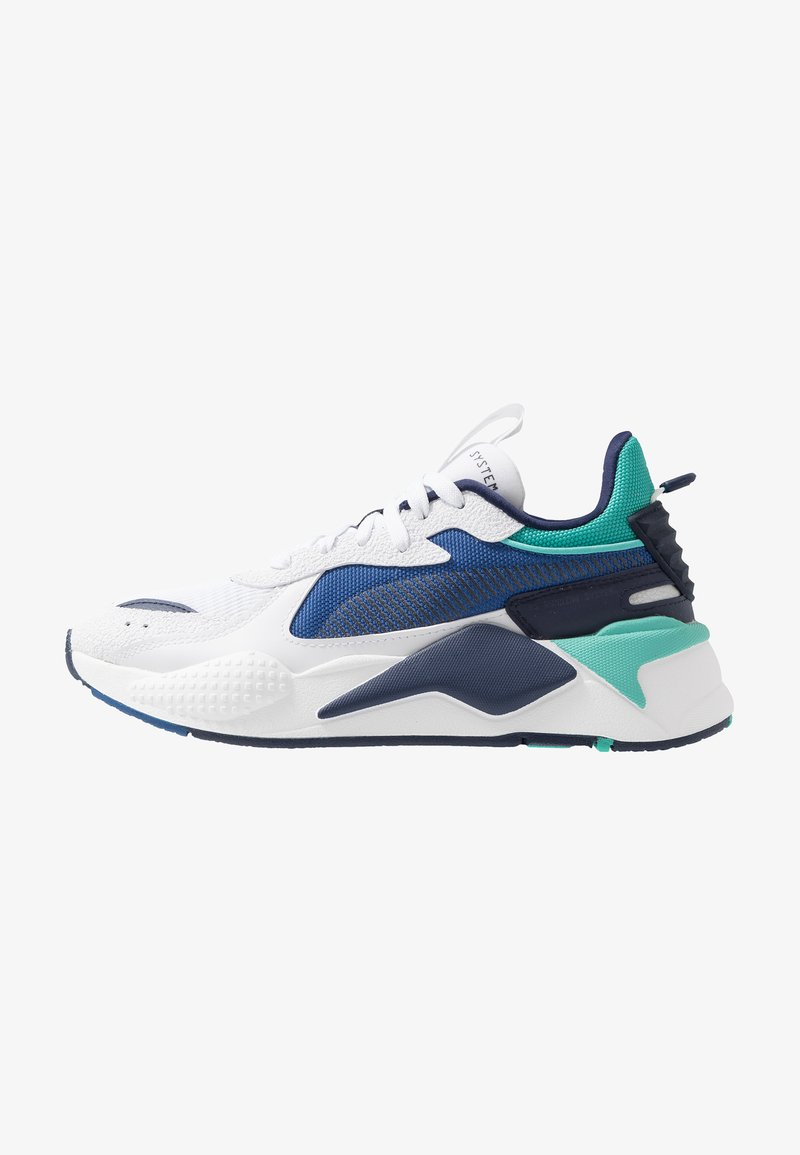 Puma - RS-X HARD DRIVE - Sneakers - white/galaxy blue