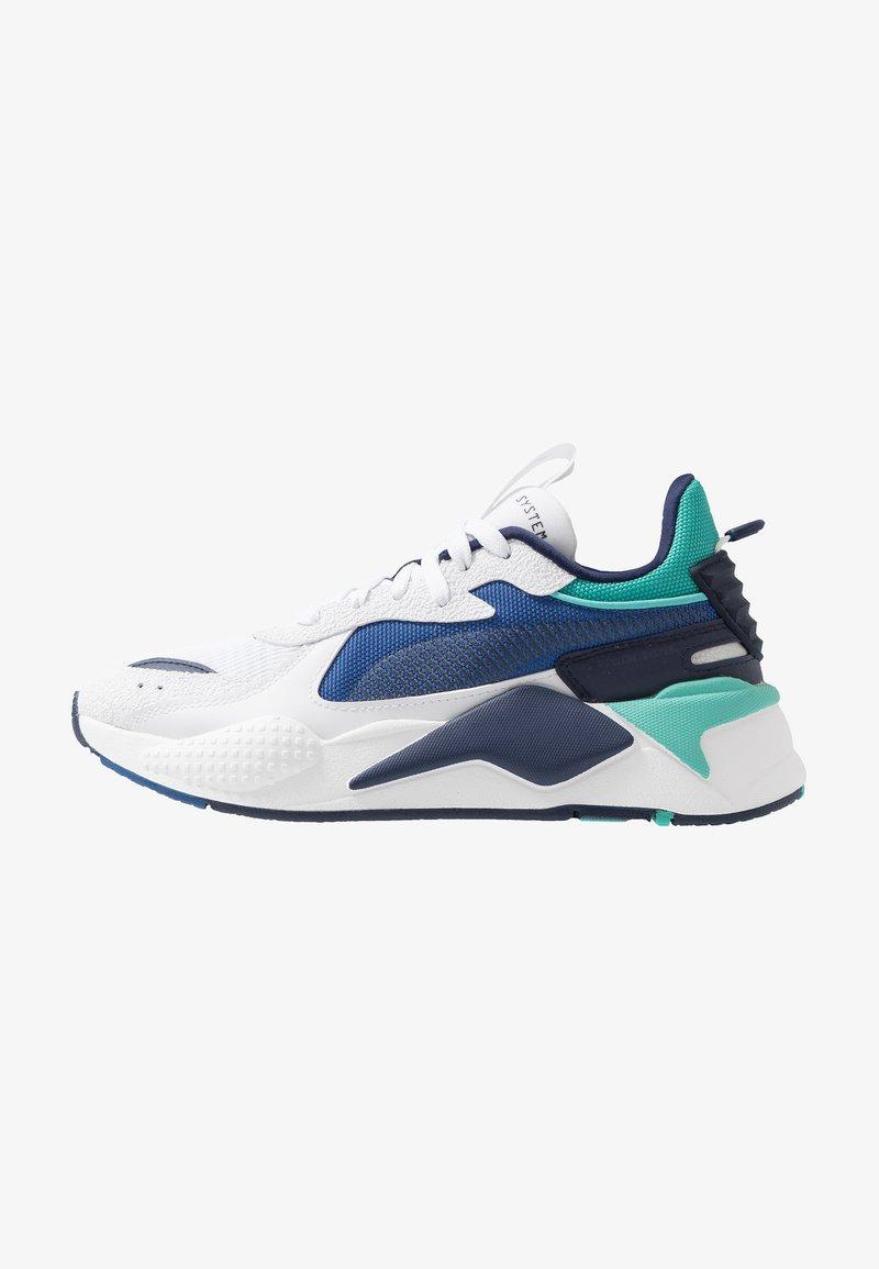 Puma - RS-X HARD DRIVE - Sneaker low - white/galaxy blue