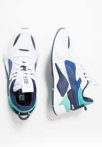 Puma - RS-X HARD DRIVE - Sneakers - white/galaxy blue - 1