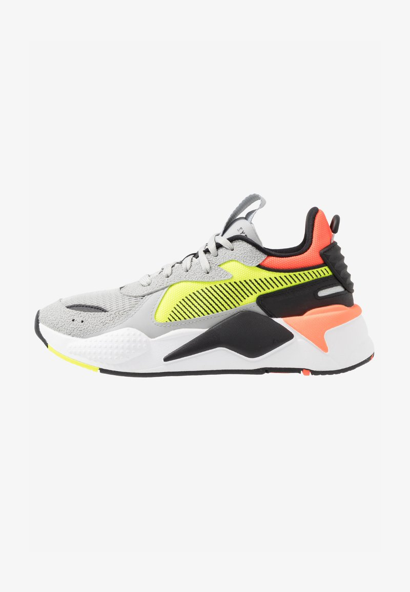 Puma - RS-X HARD DRIVE - Trainers - high rise/yellow alert