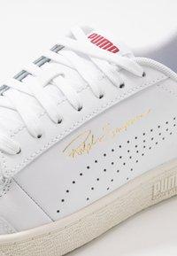 Puma - RALPH SAMPSON - Baskets basses - white/peacoat/whisper white - 5