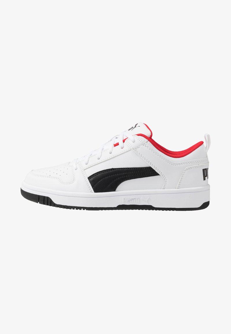Puma - REBOUND LAYUP  - Baskets basses - white/black/high risk red