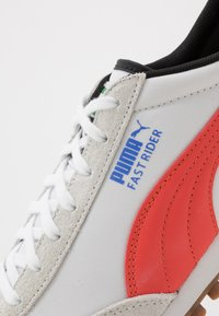 Puma - FAST RIDER - Baskets basses - white/hot coral - 6