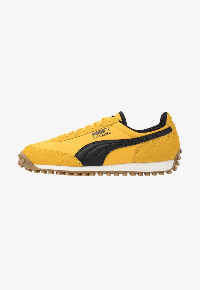 Puma - FAST RIDER - Baskets basses - spectra yellow/whisper white