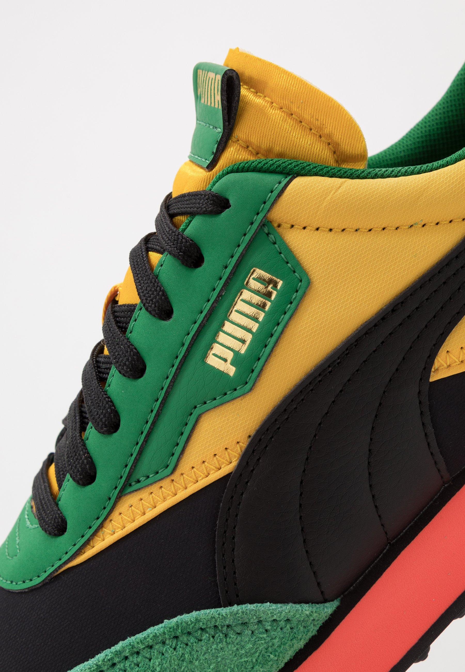 Puma Rider - Sneakers Basse Black/green/spectra Yellow mIi4U