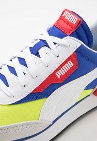 Puma - Baskets basses - white/yellow alert - 5