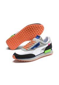 Puma - Sneakers - high rise-p white-puma black - 4