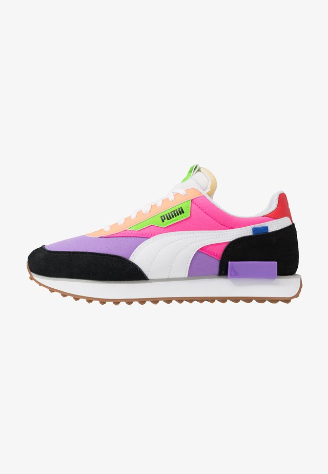 Trainers - luminous purple/fluo pink