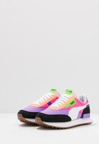 Puma - RIDER - Baskets basses - luminous purple/fluo pink - 3