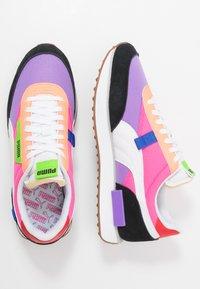 Puma - RIDER - Baskets basses - luminous purple/fluo pink - 2