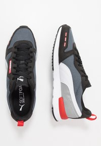 Puma - Trainers - castlerock/black/white - 1