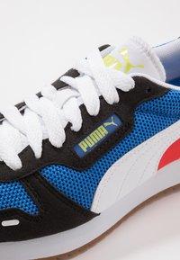 Puma - R78 UNISEX - Baskets basses - palace blue/black/white - 5