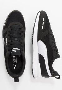 Puma - R78 UNISEX - Trainers - black/white - 1