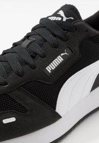 Puma - R78 UNISEX - Trainers - black/white - 5