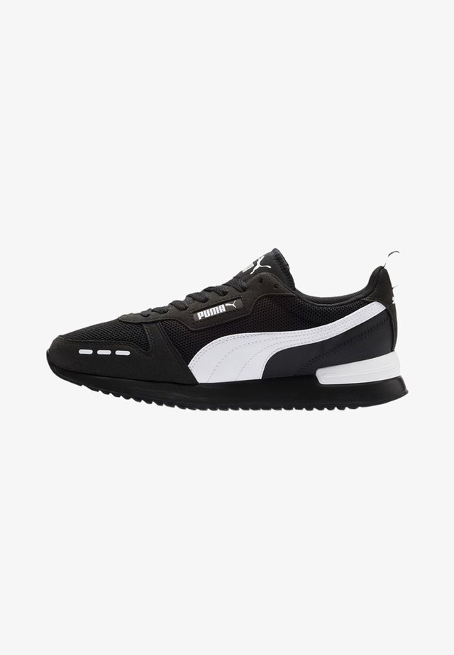 R78 UNISEX - Sneaker low - black-white-white