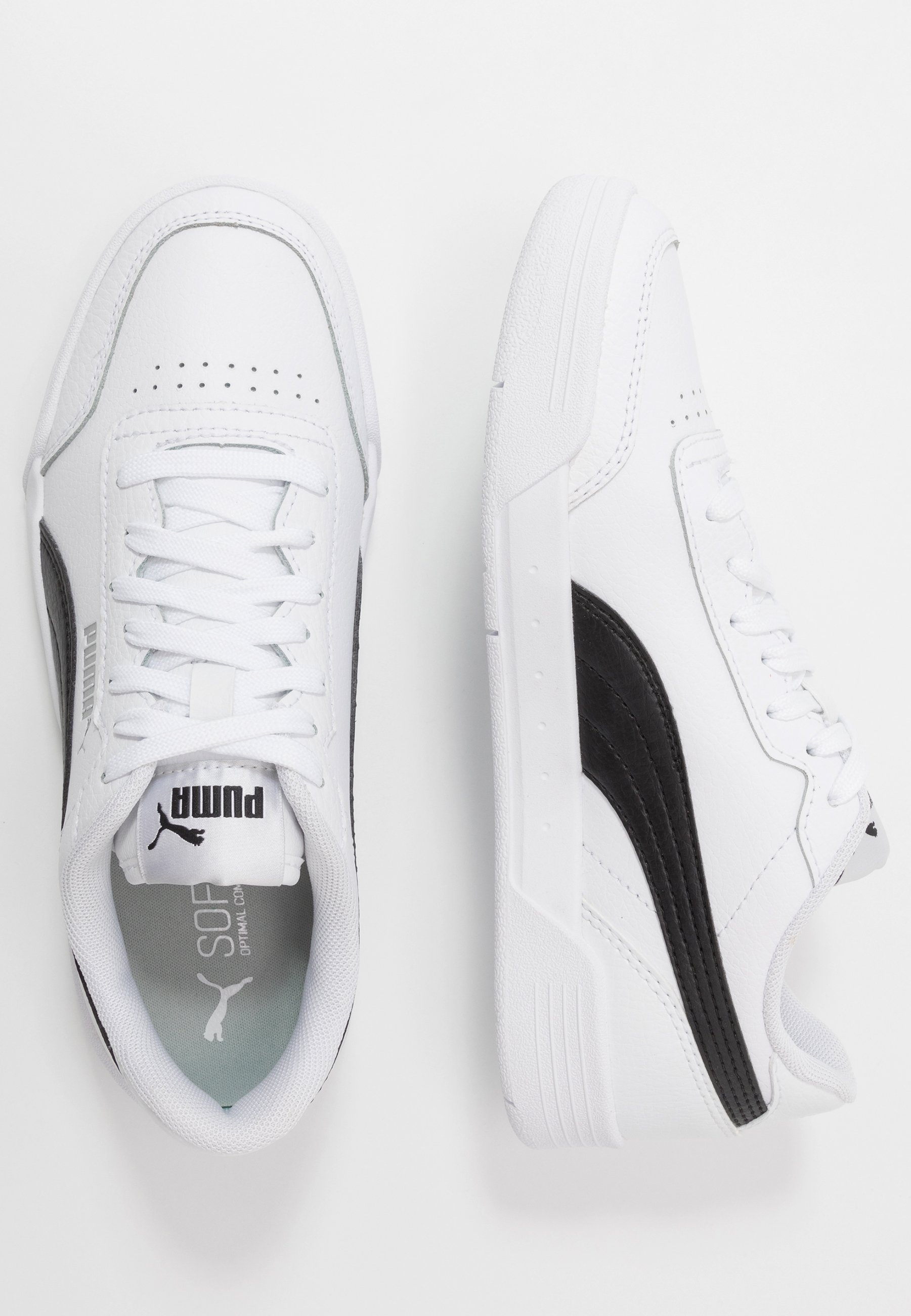 CARACAL - Sneakers laag - white/black
