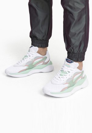 PUMA RS-PURE VISION TRAINERS UNISEX - Sneakers laag - white-high rise