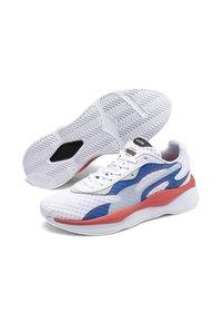 Puma - Trainers - white-palace blue - 4
