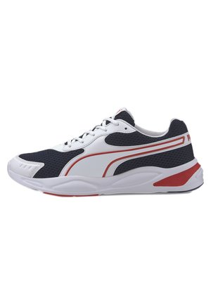 PUMA '90S RUNNER TRAINERS UNISEX - Sneaker low - white-peacoat-red