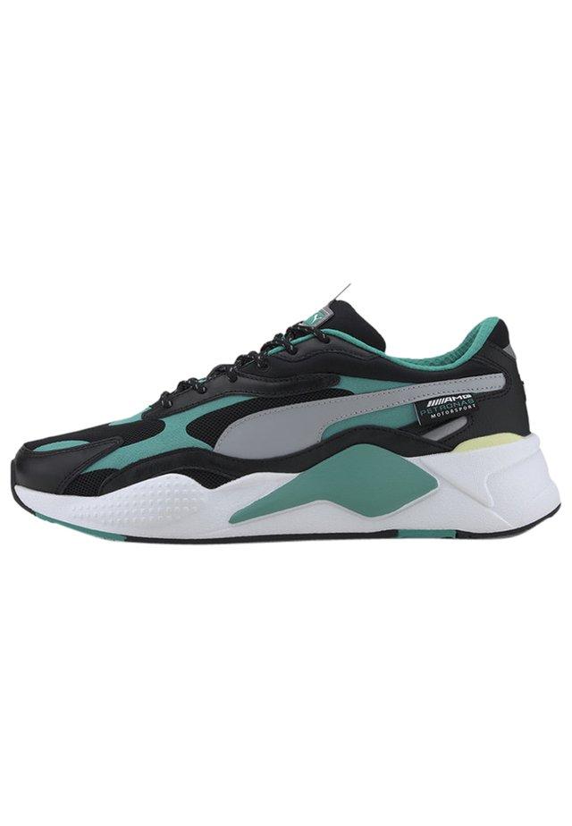 Sneakers - black-spectra green-white