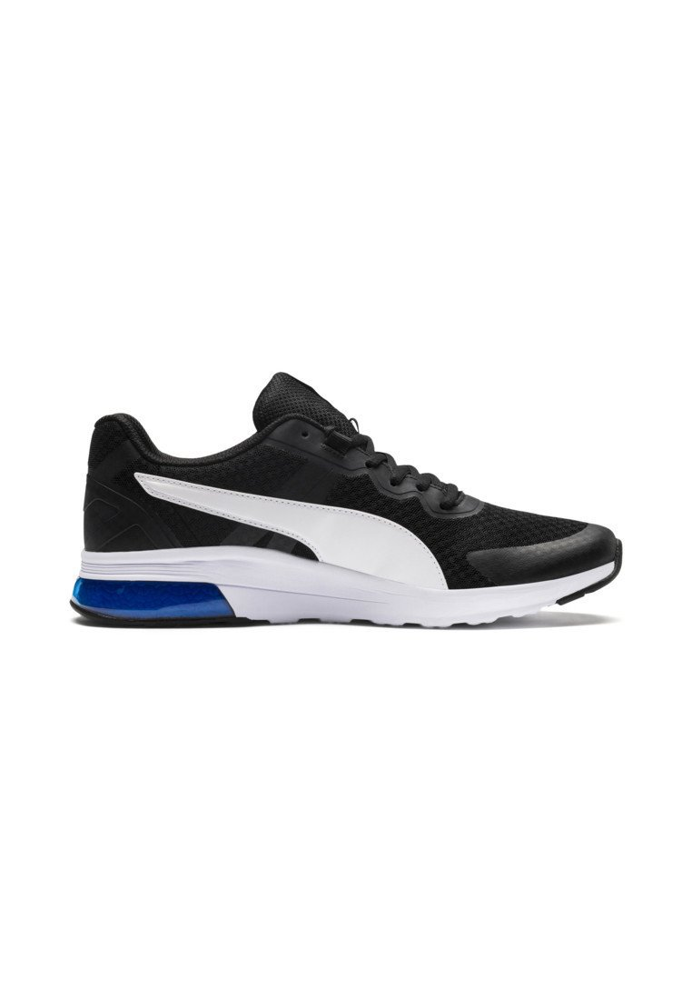 Sneakers basse p.black p. white strong blue