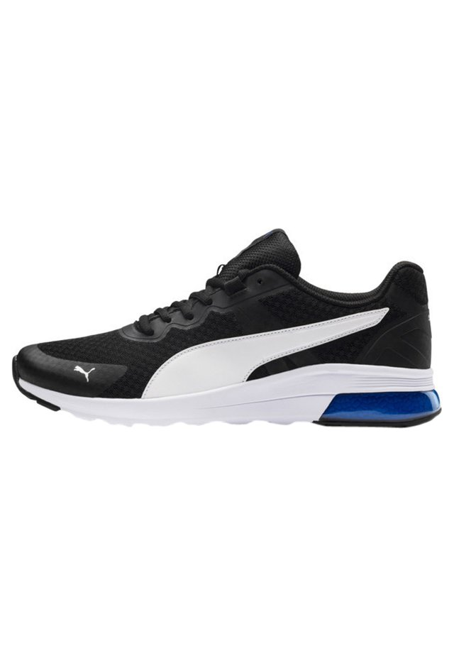 Trainers - p.black-p. white-strong blue