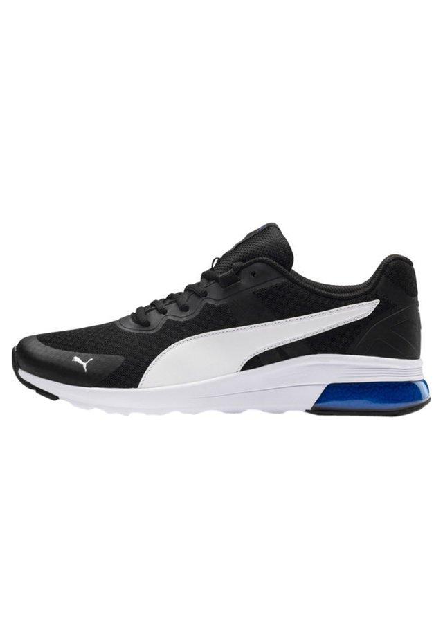 Sneaker low - p.black-p. white-strong blue