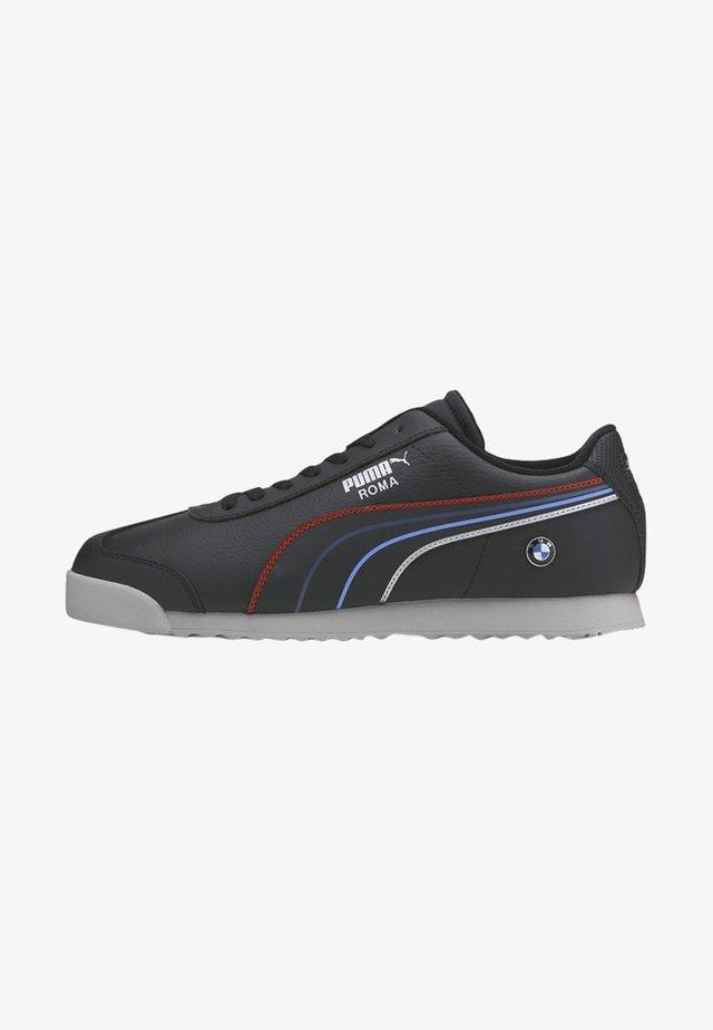Sneakers - black- white