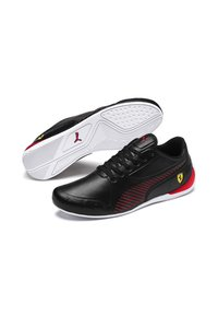 Puma - Sneakers basse - puma black-rosso corsa - 2