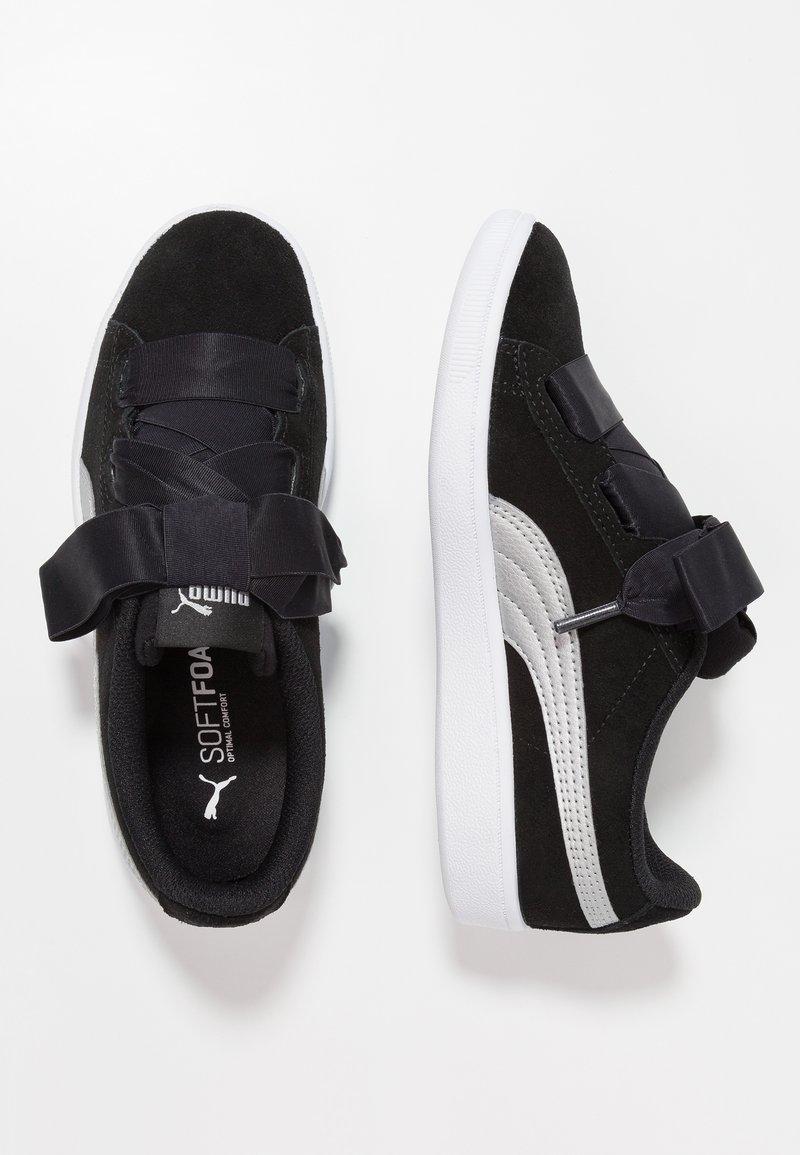 Puma - VIKKY RIBBON - Slipper - black/silver