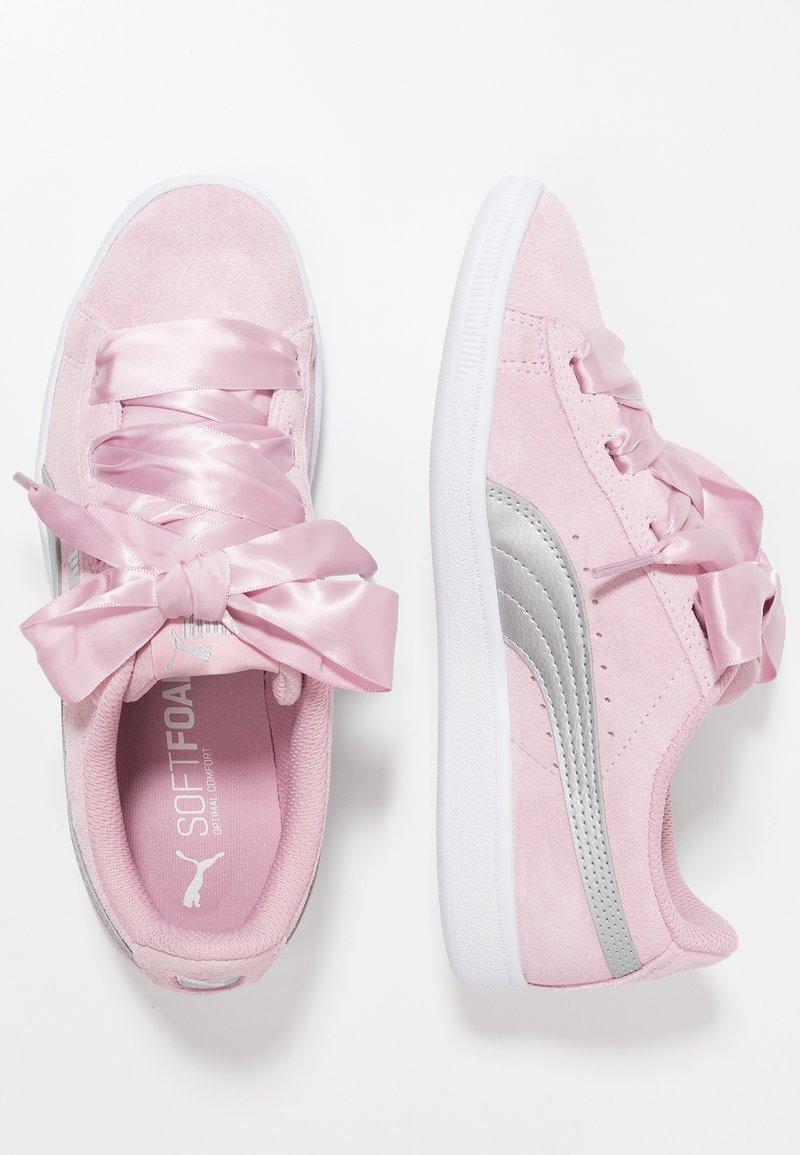Puma - VIKKY RIBBON - Sneakers - pale pink/silver