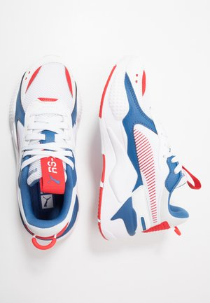 RS-X JOY - Sneakersy niskie - white/high risk red
