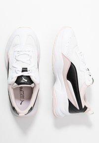 Puma - CILIA CHEETAH - Tenisky - white/black/rosewater - 0