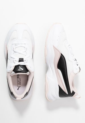 CILIA CHEETAH - Sneakers basse - white/black/rosewater