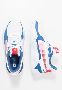 Puma - RS-X JOY  - Baskets basses - white/high risk red - 0