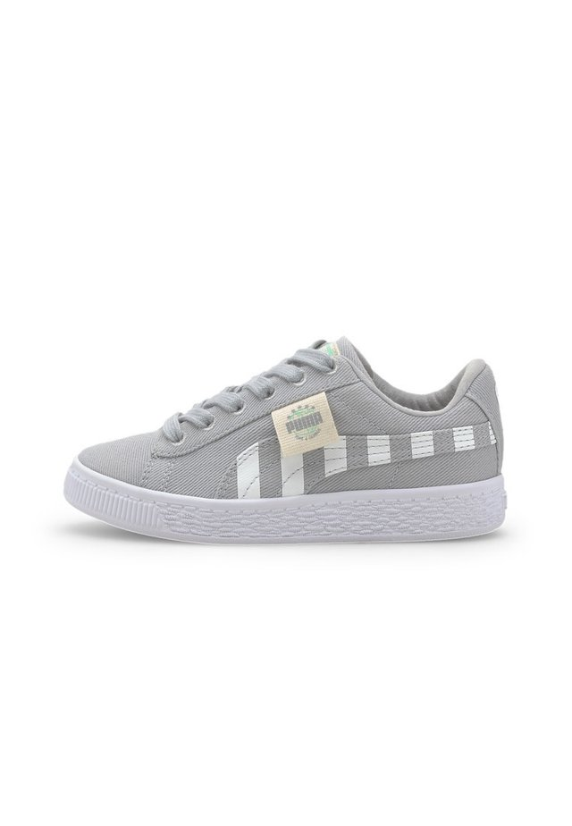 BASKET T4C - Sneakers - high rise-green glimmer