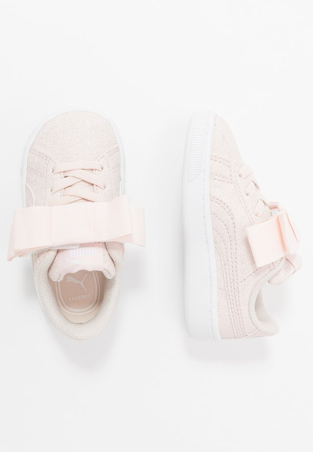 VIKKY RIBBON - Sneakers laag - rosewater/silver/white