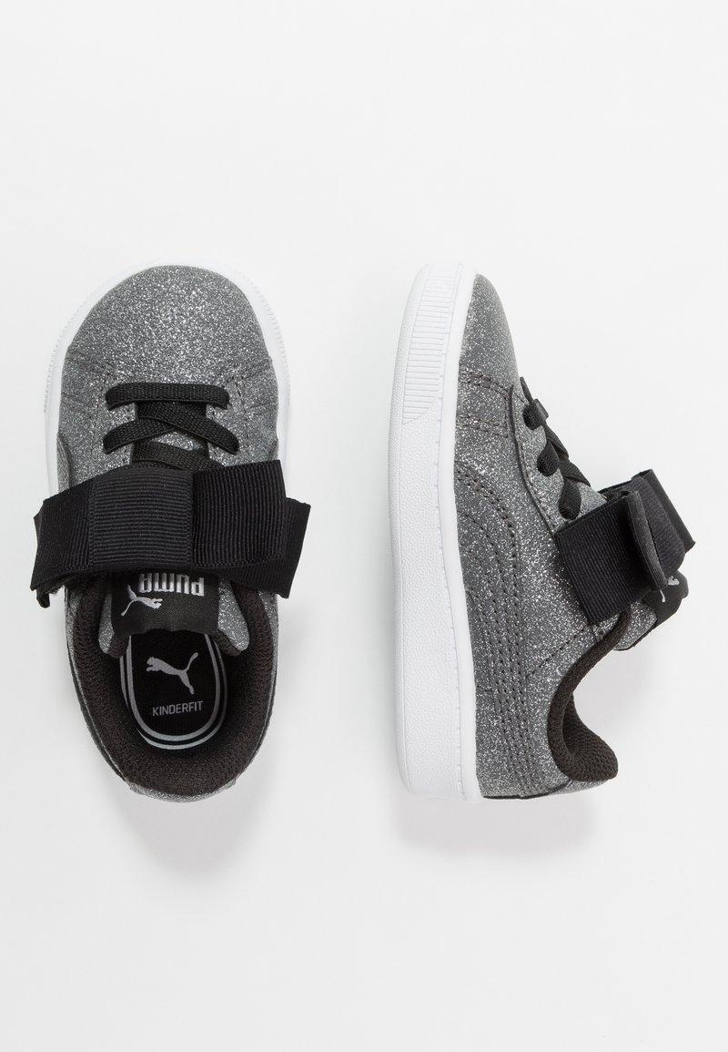 Puma - VIKKY RIBBON - Baskets basses - black/silver/white