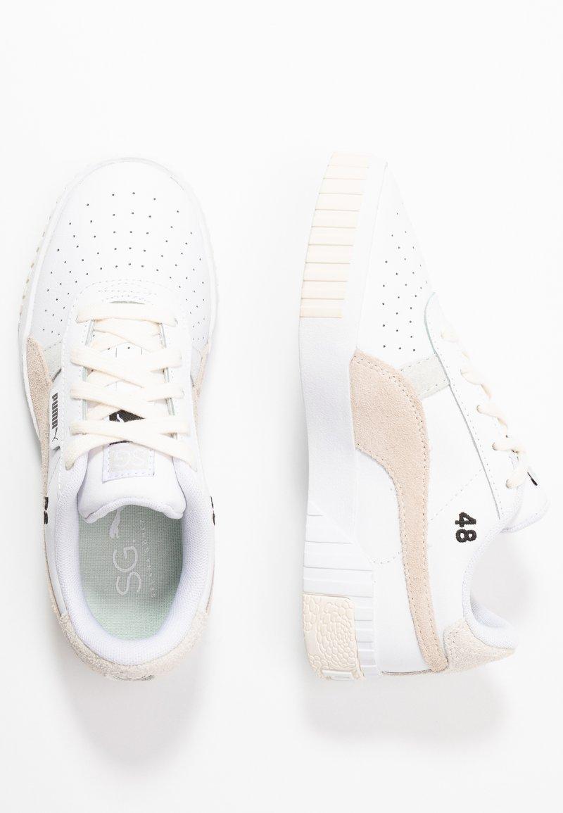 Puma - CALI X SELENA GOMEZ - Baskets basses - white/silver gray