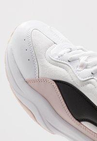 Puma - CILIA CHEETAH - Sneaker low - white/black/rosewater - 5