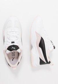 Puma - CILIA CHEETAH - Sneaker low - white/black/rosewater - 1