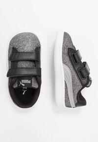 Puma - SMASH GLITZ GLAM - Baskets basses - black/silver/white - 0