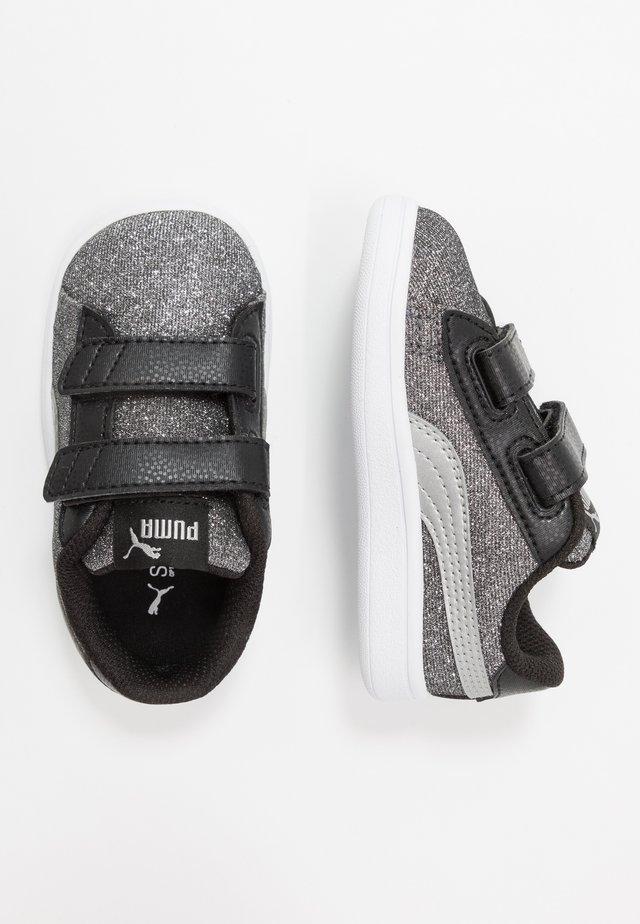 SMASH GLITZ GLAM - Sneakers - black/silver/white
