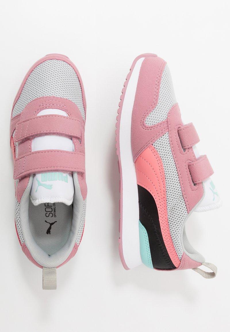 Puma - PUMA R78 - Sneakers - gray violet/salmon rose/foxglove