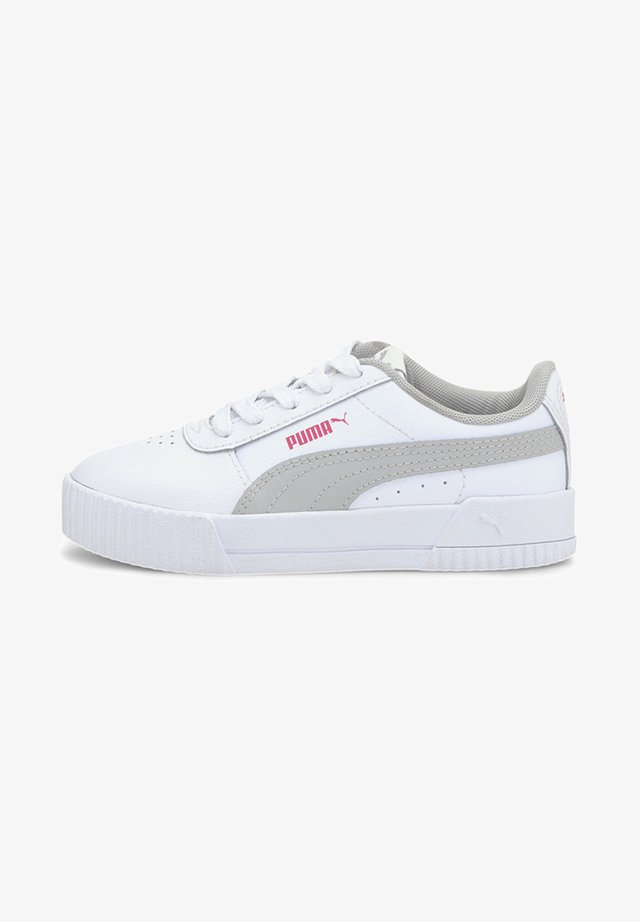 Sneakers - puma white-gray violet