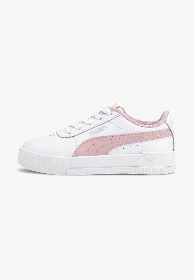 Sneakers laag - puma white-peachskin
