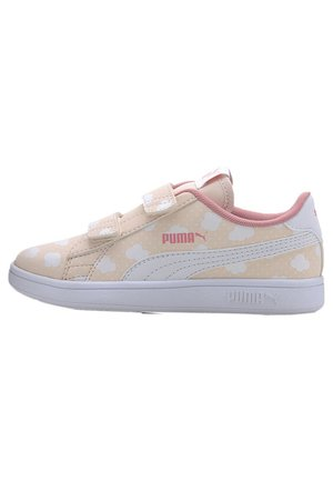 PUMA SMASH V2 CLOUD KIDS' TRAINERS GIRLS - Touch-strap shoes - rosewater-peony-white