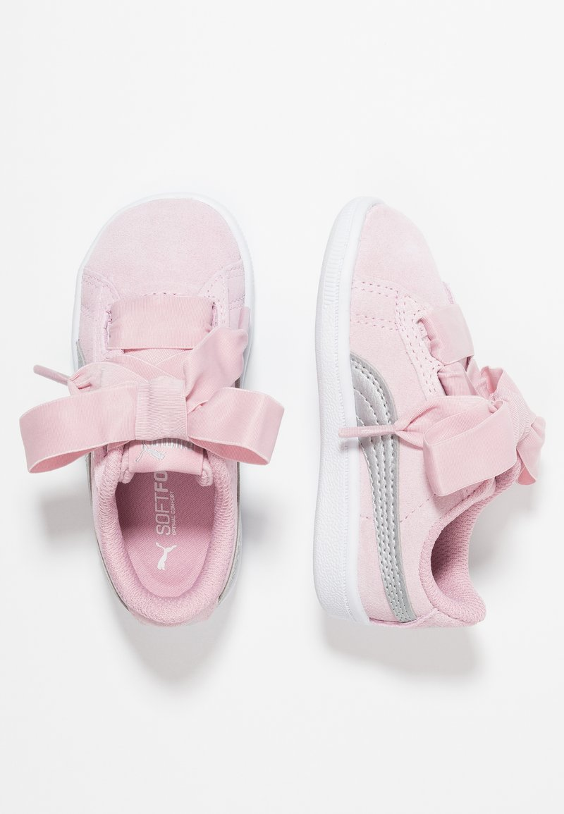 Puma - VIKKY RIBBON - Slipper - pale pink/silver